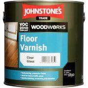 фото Johnstone s Floor Varnish Clear Glos 5л