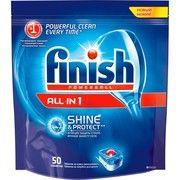 фото Finish Таблетки для посудомоечных машин Tabs All in 1 50 шт.