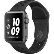 фото Apple Watch Nike+ Series 3 GPS 38mm Space Gray Aluminum w. Anthracite/BlackSport B. (MQKY2)
