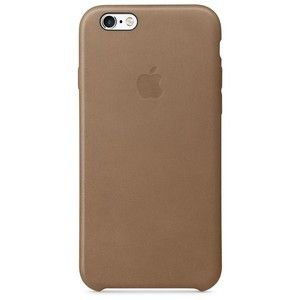 фото Apple iPhone 6s Leather Case - Brown MKXR2