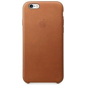 фото Apple iPhone 6s Leather Case - Saddle Brown MKXT2