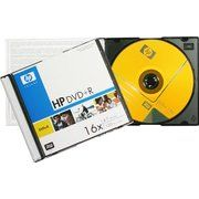 фото HP DVD+R 4,7GB 16x Slim Case 1шт DRE00035S