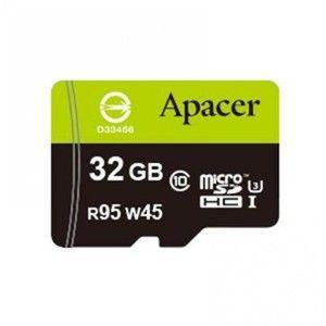 фото Apacer 32 GB microSDHC UHS-I U3 + SD adapter AP32GMCSH10U3-R