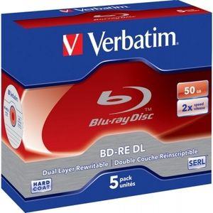 фото Verbatim BD-RE DL 50GB 2x Jewel Case 5шт (43760)