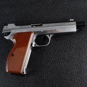 фото SAS (Sport Air Shooting) P210 Silver Blowback 4,5 мм 120 м/c (P210BBS)
