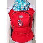 фото Love&Carry Рюкзак-переноска Алые сердца