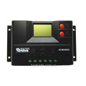 фото Altek Контроллер заряда для солнечных панелей ACM20D+USB