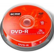 фото Acme DVD-R 4,7GB 16x Cake Box 10шт 858219/418421