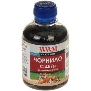 фото WWM Чернила для Canon MG2140/MG4240/MG5540/MX514 200г Black (C45/BP)