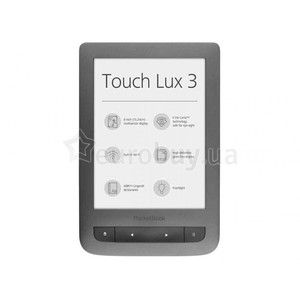 фото Pocketbook Touch Lux 3 (Gray)