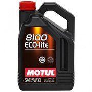 фото Motul 8100 Eco-Lite 5W-30 5л