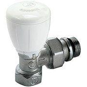 фото Giacomini Угловой микрометр. термостат. клапан, хром., с отводами с герметичной прокладкой