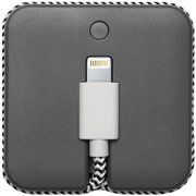 фото NATIVE UNION 2 in 1 Cable Lightning and Battery Jump Slate (JCABLE-L-GRY)