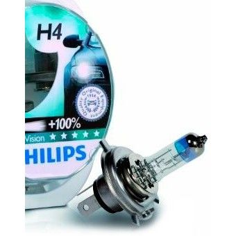 Philips H4 X-tremeVision 12V 60/55W (12342XVS2)