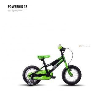 фото GHOST Powerkid 12 (2016) (16PK7528) black/green/white
