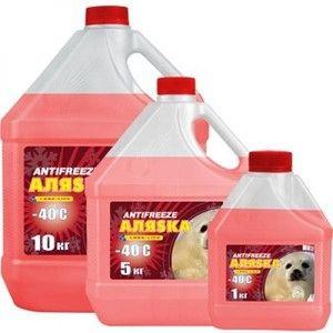 фото Аляska Antifreeze -40 красный 5л