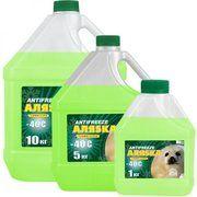 фото Аляska Antifreeze -40 зеленый 10л