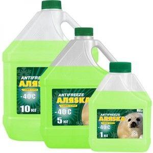 фото Аляska Antifreeze -40 зеленый 1л