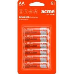 фото Acme AA bat Alkaline 6шт 4770070868492