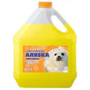 фото Аляska Antifreeze -40 желтый 1л