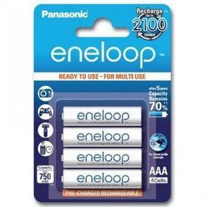 фото Panasonic AAA 750mAh NiMh 4шт Eneloop (BK-4MCCE/4BE)