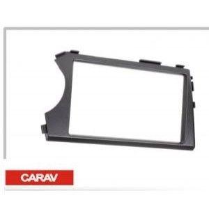 фото Carav Переходная рамка для установки 2 DIN автомагнитол в SSANG YONG 11-136