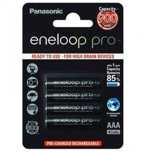 фото Panasonic AAA 900mAh NiMh 4шт Eneloop Pro (BK-4HCCE/4BE)