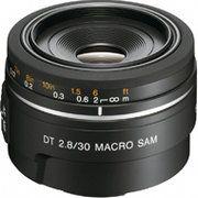 фото Sony SAL30M28 30mm f/2.8