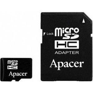 фото Apacer 16 GB microSDHC Class 10 UHS-I + SD adapter AP16GMCSH10U1-R