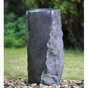 фото Engard Фонтан декоративный Каменная абстракция 29х29х62см