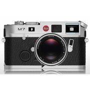 фото Leica M7 0.72 silver chrome finish (10504)