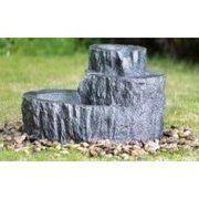 фото Engard Фонтан декоративный Каменный пень 48х33,5х85,5см