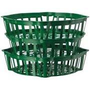 фото Florium Корзинка для луковиц овальная 25 см зеленая (804403)