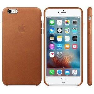 фото Apple iPhone 6s Plus Leather Case - Saddle Brown MKXC2