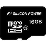 фото Silicon Power 16 GB microSDHC Class 4 SP016GBSTH004V10