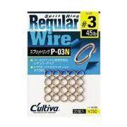 фото Owner Split Ring Regular Wire P-03B 1