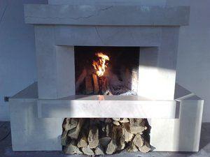 фото Мраморный камин