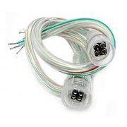 фото DeLux Светодиодный аксессуар DELUX RGB connector, 20cm коннектор () (10079877)