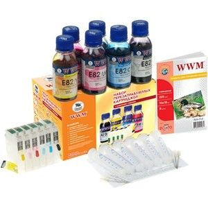 фото WWM ПЗК Epson T50/TX650/1410/R270/R290/R390/RX590/RX610/TX700w RC.T082T