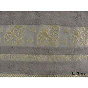 фото ARYA Sarmasik: полотенце 140х70 см с жаккардом (Фиолетовый, 70 х 140) (101-978)