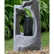 фото Engard Фонтан декоративный Каменная абстракция 44,5х30х86,5см