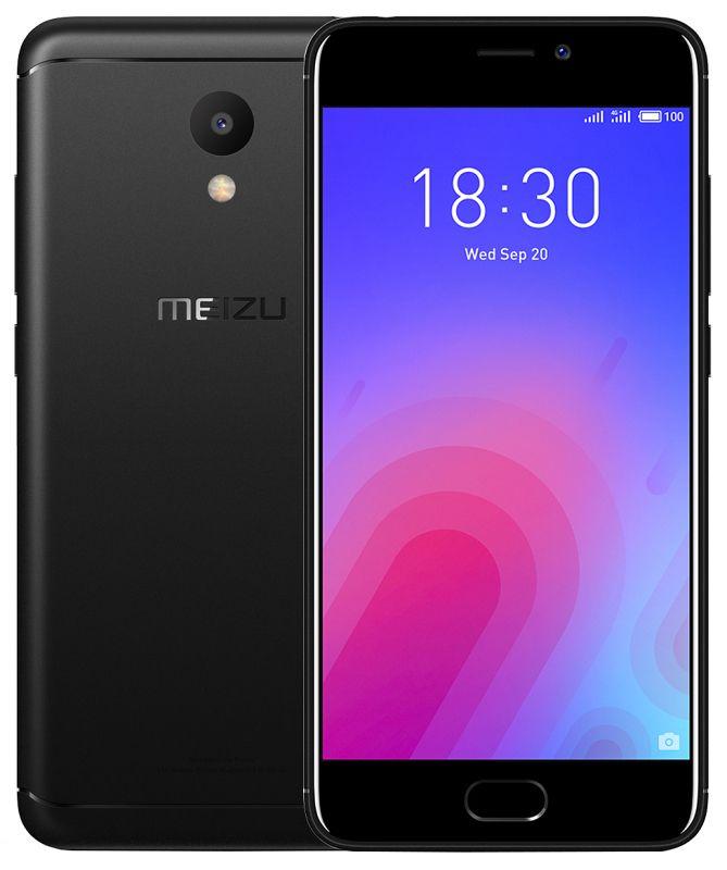 Meizu M6 3/32GB Black