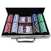 фото Duke Набор для игры в покер в алюминиевом кейсе (200 фишек, 2 колоды (CG11200)