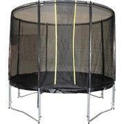 фото KIDIGO (Мастерская Волшебного Мира) Батут VIP Black 244 см с защитной сеткой