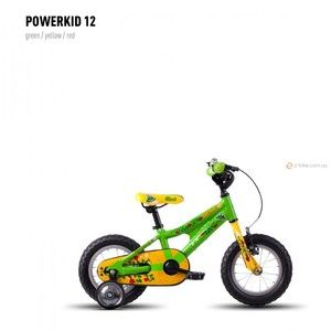 фото GHOST Powerkid 12 (2016) (16PK7525) green/yellow/red