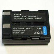 фото PowerPlant Aккумулятор для Minolta NP-400, Pentax D-Li50 (1550 mAh) - DV00DV1052