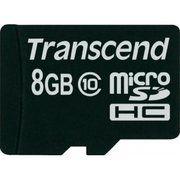 фото Transcend 8 GB microSDHC class 10 TS8GUSDC10
