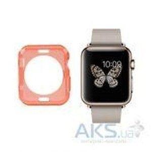 фото iBest чехол для Apple Watch 38mm TPU Case Solid Red