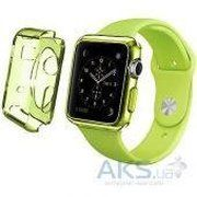 фото iBest чехол для Apple Watch 42mm TPU Case Clear Green