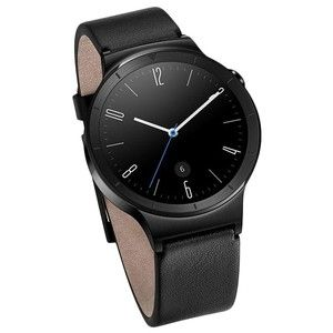 фото HUAWEI Watch (Black Stainless Steel with Black Leather Strap)